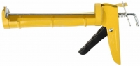 Пистолет для герметиков полукорпусный, гладкий шток