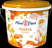 Краска водоэмульсионная для фасадов и интерьеров Alina Paint Fronta