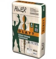 """Шпатлевка гипсовая AlinEX """"GLATT"""", 25 кг"""