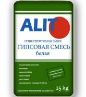 """Гипсовая штукатурная смесь """"ALIT"""", белая, 25 кг"""