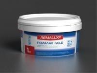 """РЕМАЛАК GOLD глянцевый лак на водной основе в золоте """"Remalux"""""""