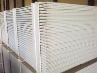 ГКЛ 9,5*1200*2500 гипсокартонный лист KNAUF, потолочный