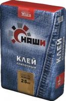 Клей плиточный КРЕПОСТЬ, 25 кг