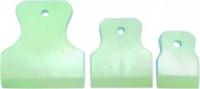 Шпатель резиновый 40, 60, 80 мм (белые) 3 шт.